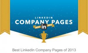 De bedste virksomhedssider på LinkedIn i 2013