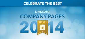 De bedste virksomhedssider på LinkedIn i 2014